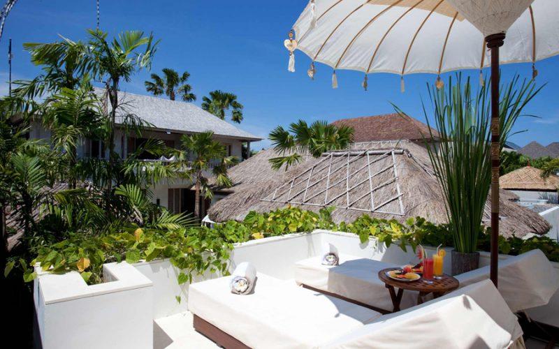 Villa Adasa Seminyak   Relaxing Terrace