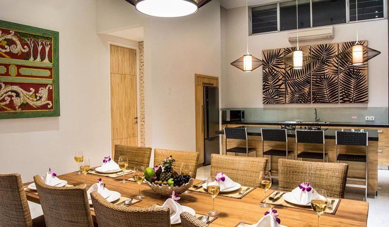 Villa Aramanis Damai Fully staffed with chefs available