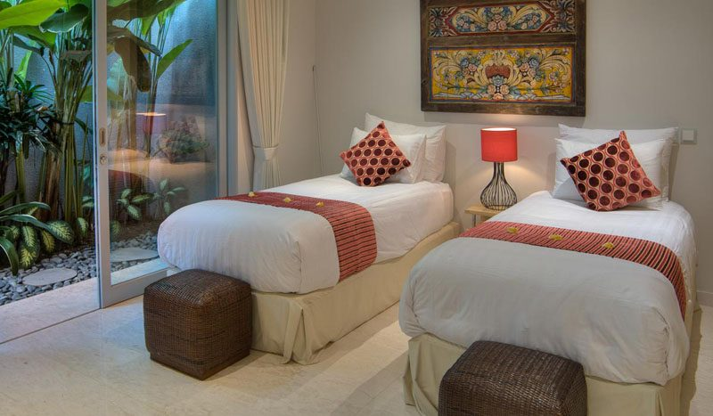 Villa Aramanis Damai Guest bedroom one