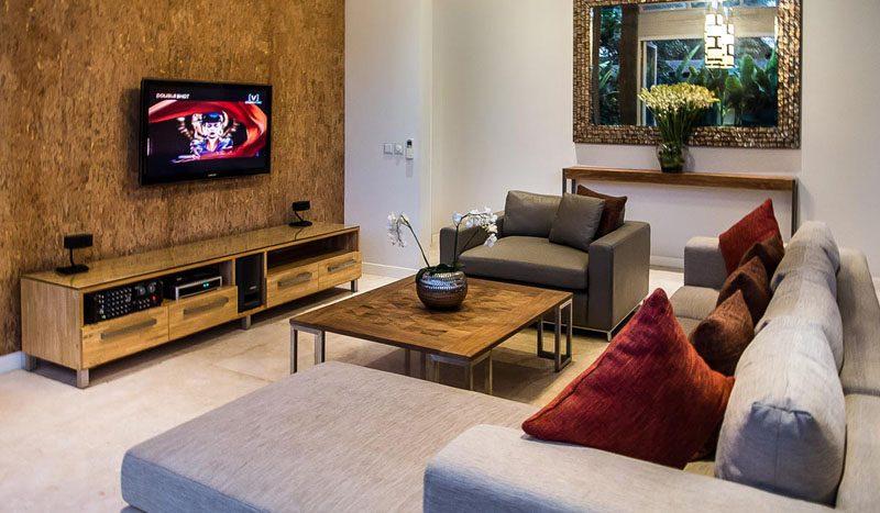 Villa Aramanis Damai Indoor living space