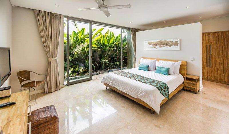 Villa Aramanis Damai Master bedroom