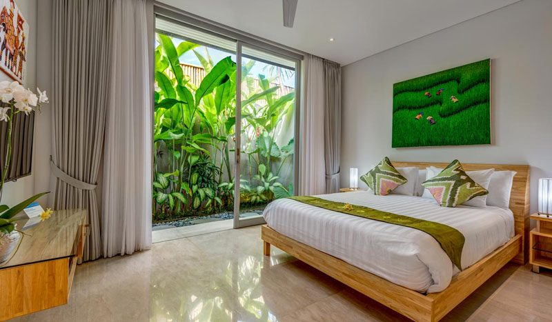 Villa Aramanis Indah Guest bedroom one
