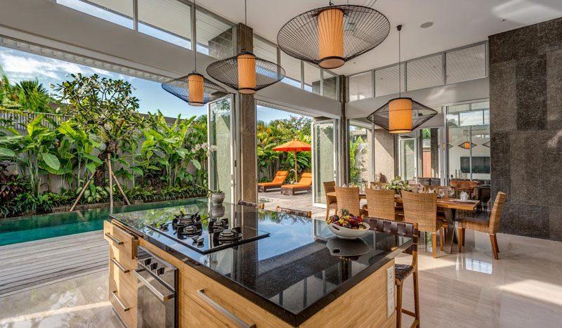 Villa Aramanis Indah Kitchen