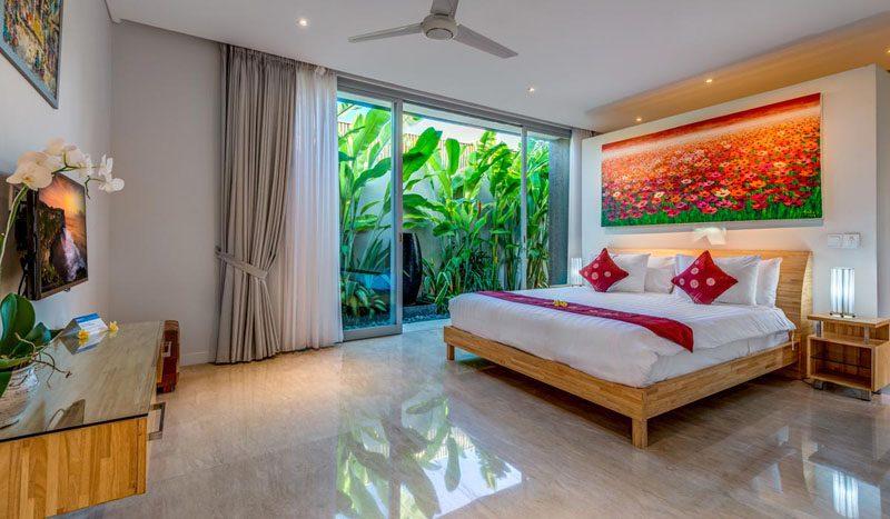 Villa Aramanis Indah Master bedroom