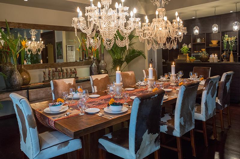 Villa Eshara 1   Dining Set Up
