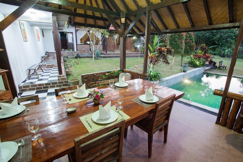 Villa Kubu Ampo   Dining Area   2