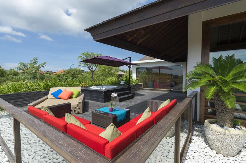 Villa Aiko   Outdoor Living Area